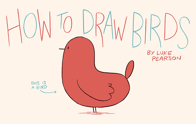 Luke Pearson's How to Draw... birds 1