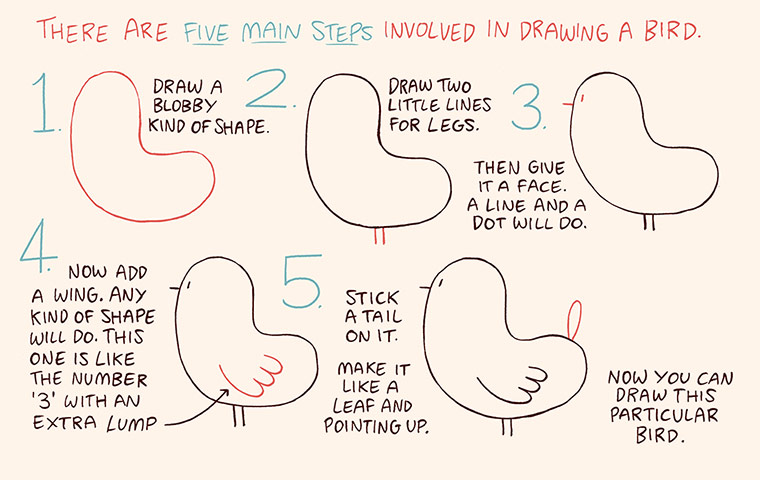 Luke Pearson's How to Draw... birds 3