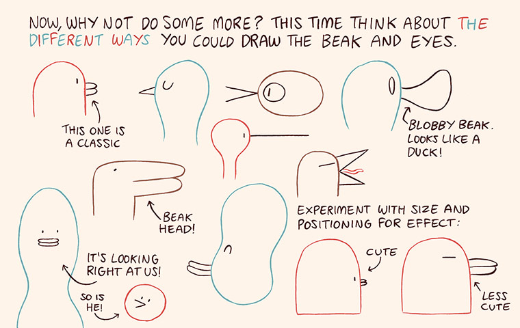 Luke Pearson's How to Draw... birds 6