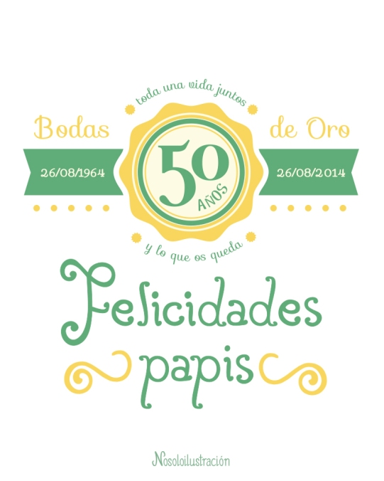 Type Aniversario 50